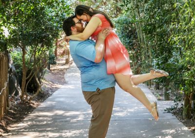 Chattanooga zoo couples photography engagement